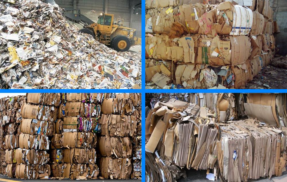 tái chế giấu phế liệu