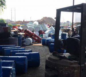 cơ sở thu mua thùng phi nhựa